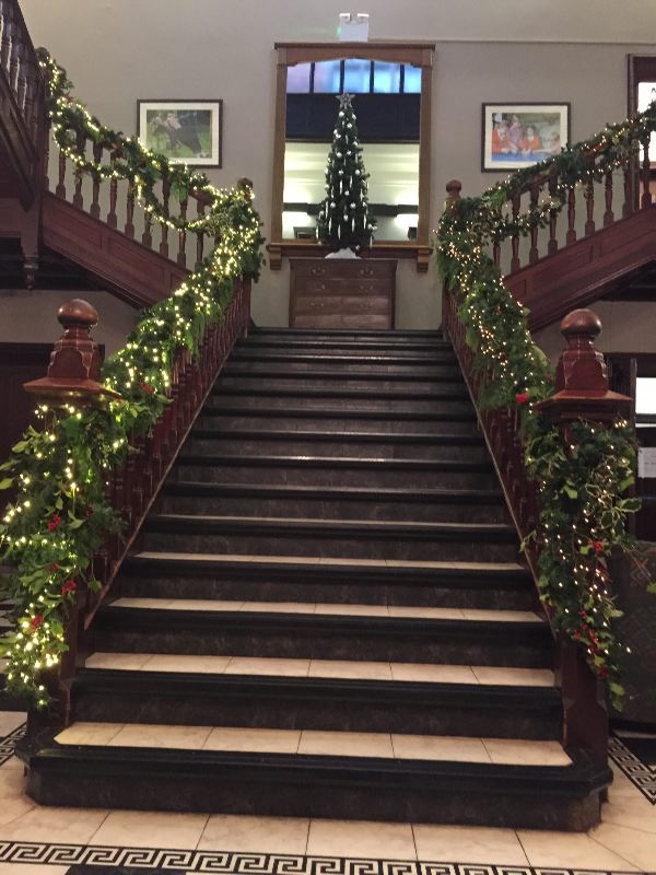 Christmas Staircase