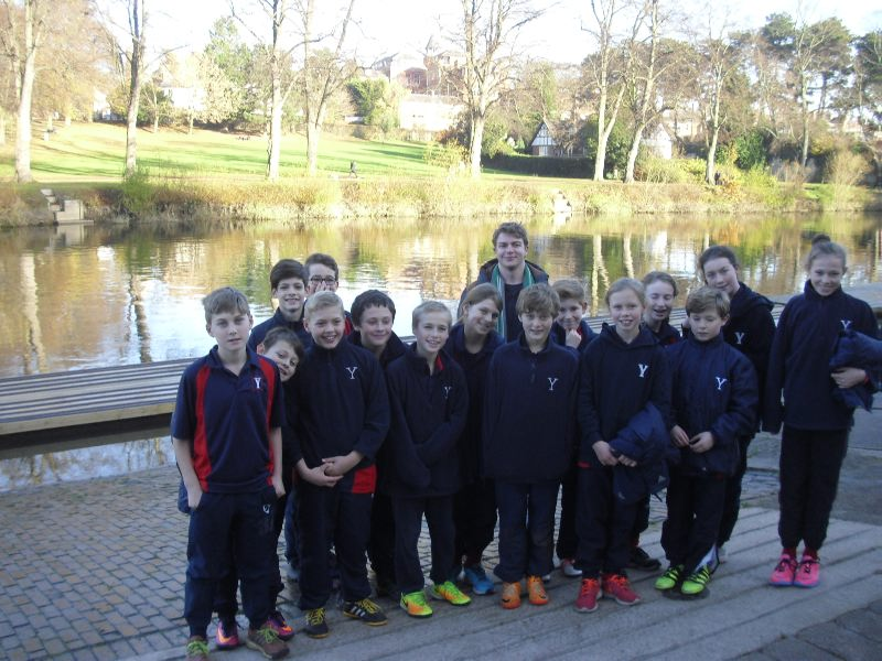 Form 7 Trip to Shrewsbury School 25 Nov 009
