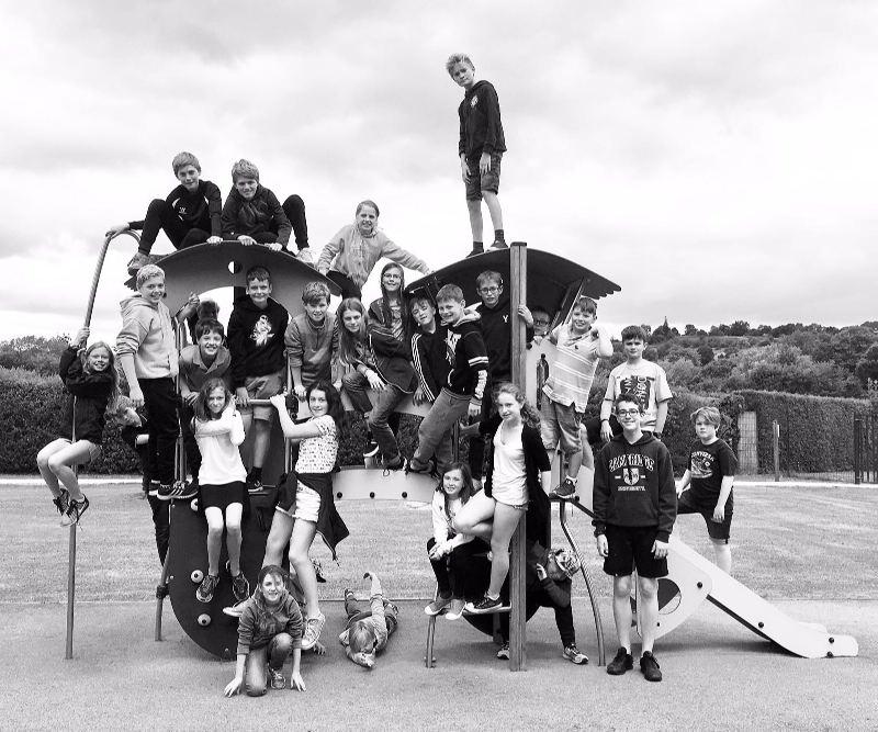 French Trip Black and White Amazing Photo