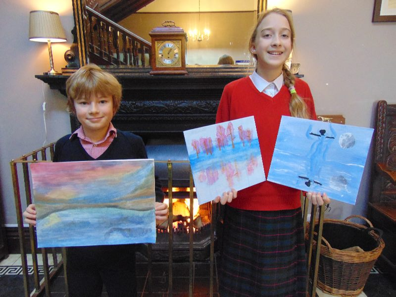 Lucia and Reuben Shrewsbury Art Competition