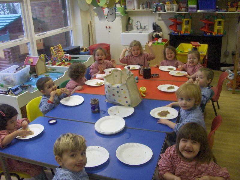 Nursery Pancakes Feb 2015