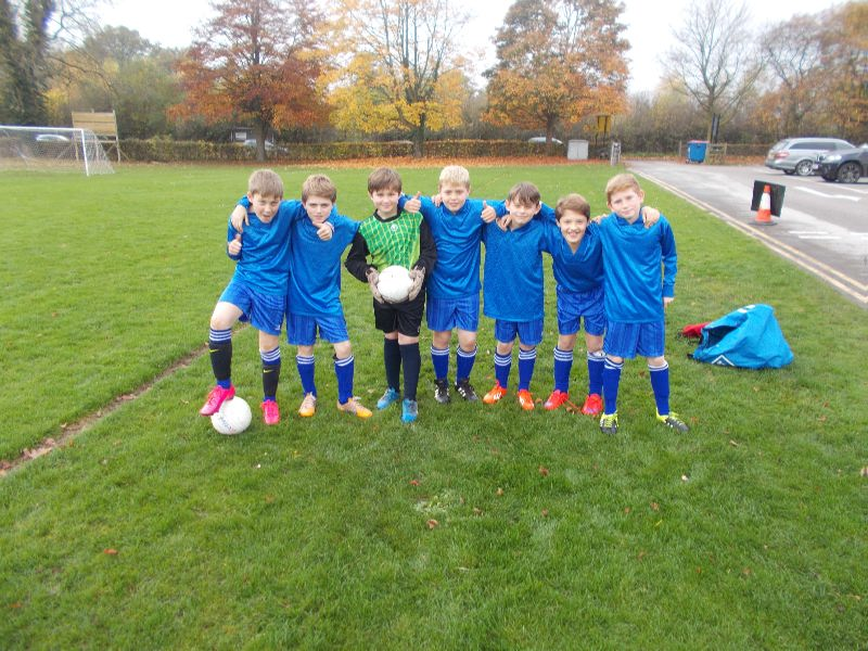 The Ryleys U11 Football Match