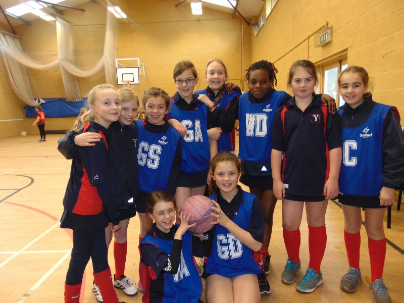 U10  U11 Girls Netball 31 Jan v Denstone Prep