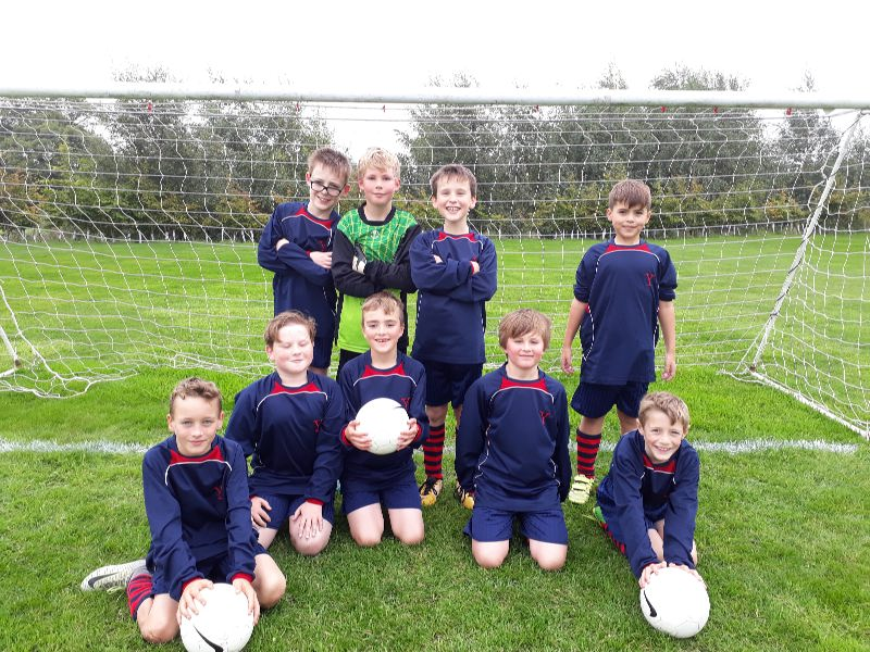 U11 Football at Old Hall 27 September