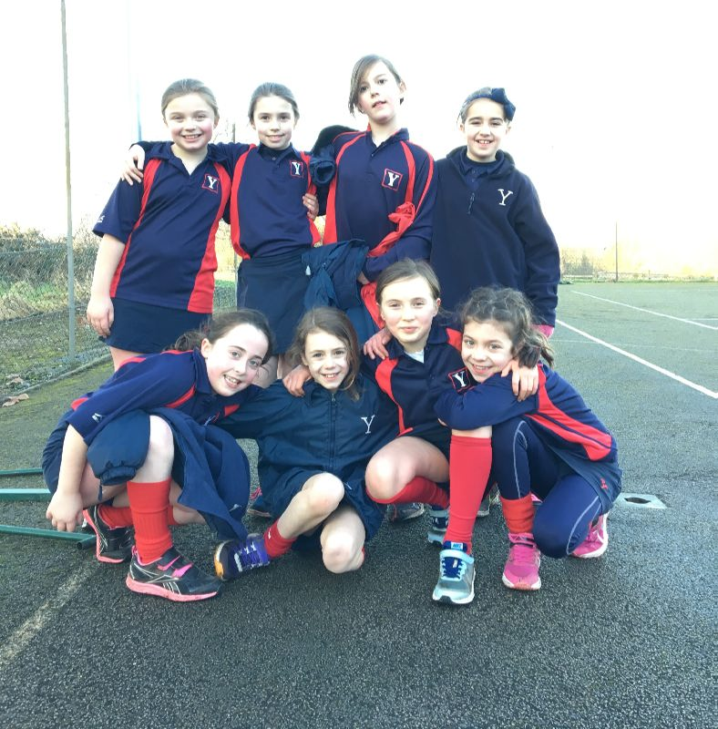 U11 Netball v Shrewsbury 25 Jan