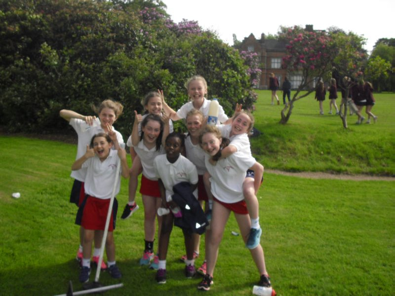 U12 Girls Rounders 7 June