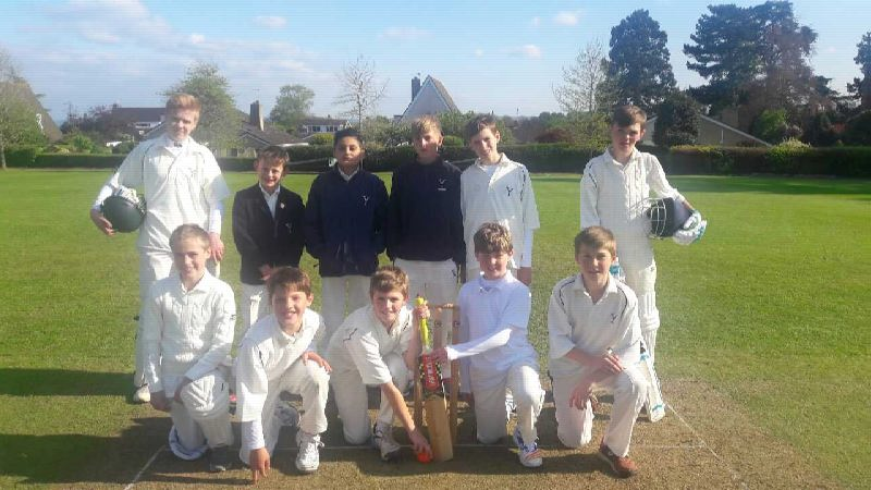 U13 Cricket v Prestfelde 3 May 2017