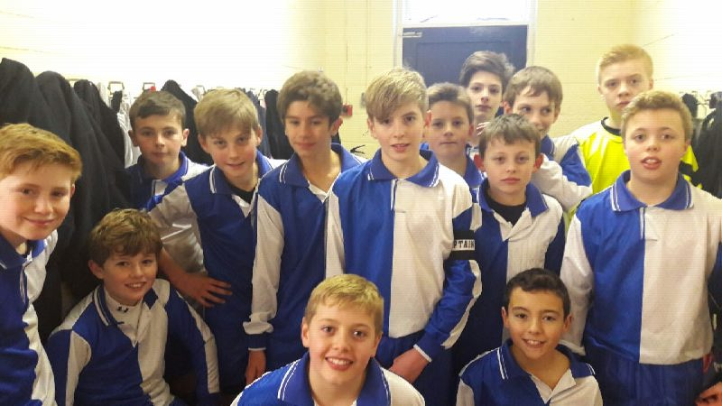 U13 Football v  Shrewsbury 26 Jan