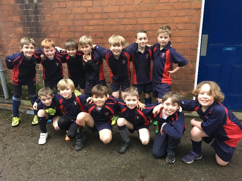 U9a  b football team photo 16 Jan 2017