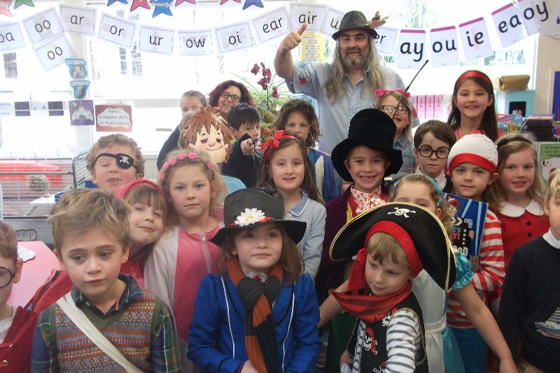 World Book Day  Library Opening 2017 040