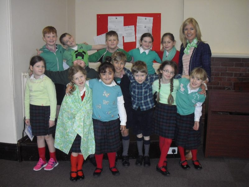 St Patricks Day - Form 3