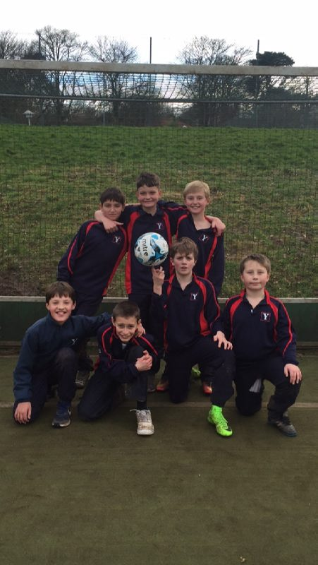 U11 Football v Denstone Prep 1st March